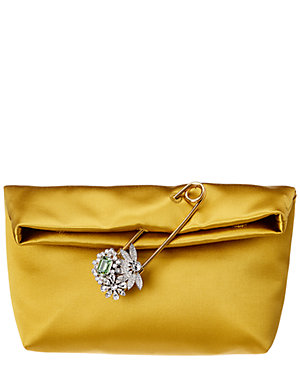 aee6f42908c2 Burberry Small Pin Satin Clutch from Gilt - Styhunt