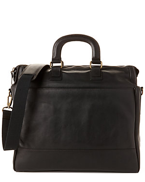 Bosca Carry-All Leather Tote