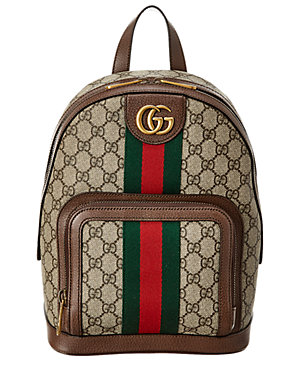 e35c5cd5bf77 Gucci Ophidia Small Gg Supreme Canvas & Leather Backpack