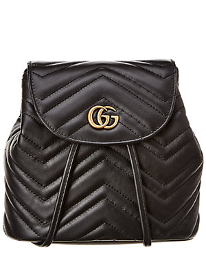 af06a0528e89 Gucci Gg Marmont Matelasse Leather Backpack