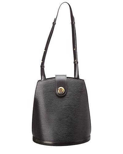 Louis Vuitton Noir Epi Leather Cluny  by Louis Vuitton