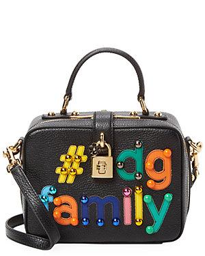 c3accabe3811 Dolce   Gabbana  Dg Family Dolce Box Bag Leather Crossbody