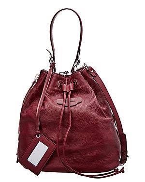Balenciaga Papier Plate Leather Bucket Bag 281054ff9af3d