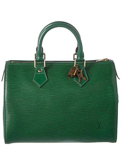 Louis Vuitton Green Epi Leather Speedy 25 by Louis Vuitton