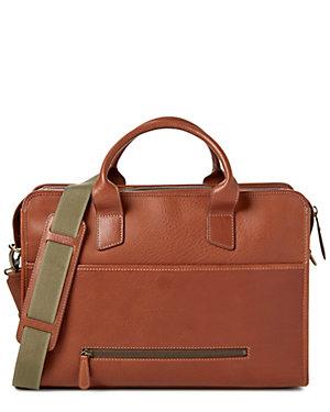 Bosca Leather Work Briefcase