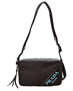 0c972ed4620b7b Prada Diagramme Leather Crossbody Bag $990. Prada Diagonal Logo Print  Crossbody