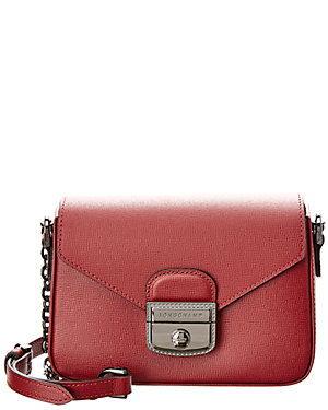 8012f95090a8 Longchamp Le Pliage Heritage Chain Xs Leather Crossbody