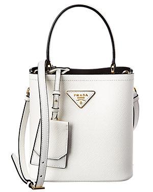 6eaea59e9 Prada Panier Small Saffiano Leather Bucket Bag