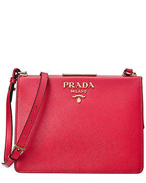 Prada Light Frame Saffiano Leather Shoulder Bag from Gilt - Styhunt ee3669c8e6b51