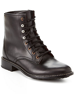 Woolrich Women's Deadeye Leather Ankle Boot