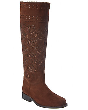 Aerin Speight Suede Tall Boot