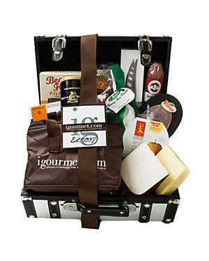 igourmet 13pc Platinum Foodie Gift Case Set