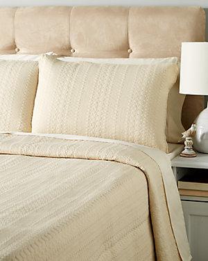 Mocha Cotton Quilt Set