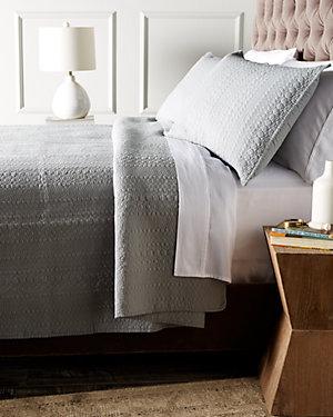 Pewter Cotton Quilt Set