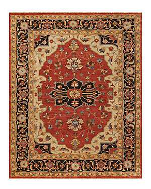 Ustad Hand-Knotted Rug
