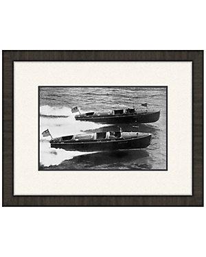 Boat Racing II by Melissa Van Hise