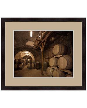 Casks in the Winery II by Melissa Van Hise