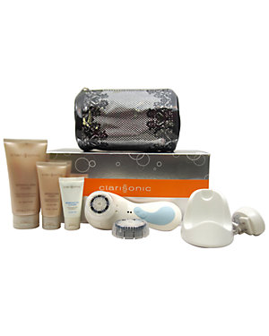 Clarisonic 7pc White PRO Sonic Skin Cleansing System for Face & Body