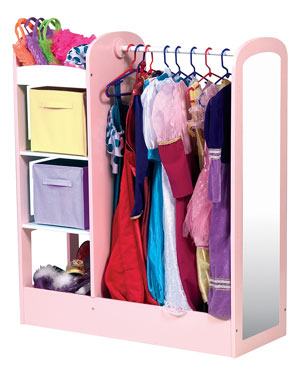 Guidecraft See and Store Dress-Up Unit