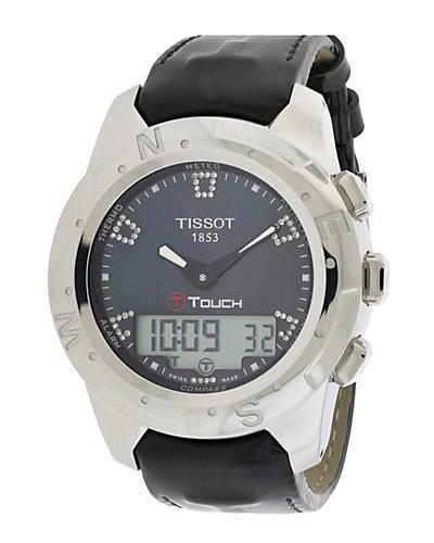 Tissot Women's T Touch Ii Diamond Watch by Tissot