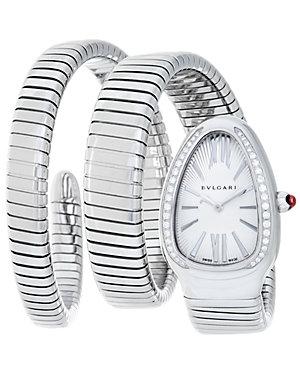 Bulgari Women's Serpenti Diamond Watch