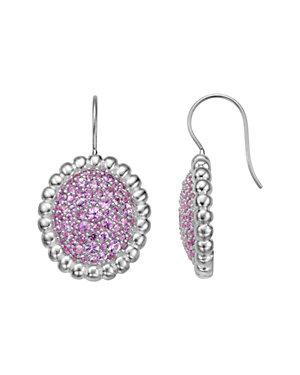 SLANE Nuage Silver 3.36 ct. tw. Sapphire Drop Earrings