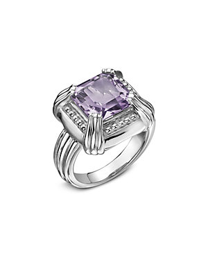 SLANE Voltaire Silver 7.00 ct. tw. Amethyst Ring