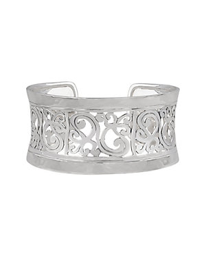 Janice Girardi Silver Swirl Cuff