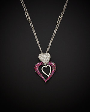 Salavetti 18K Diamond & Sapphire Necklace