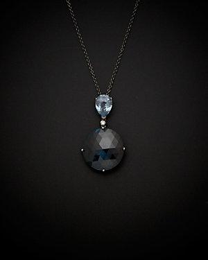 Salavetti 18K 21.65 ct. tw. Diamond & Topaz Necklace