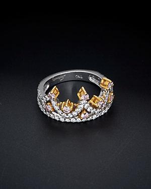 Salavetti 18K Two-Tone 0.99 ct. tw. Diamond Ring