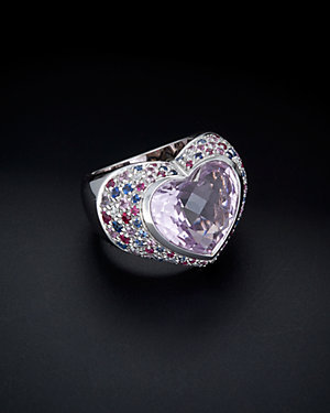 Salavetti 18K 9.75 ct. tw. Diamond & Gemstone Ring