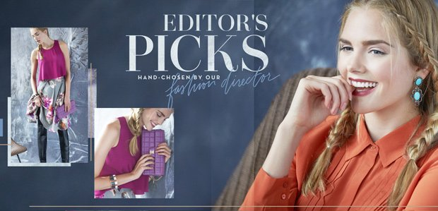 Editor's Picks: Hand-Chosen by Our Fashion Director