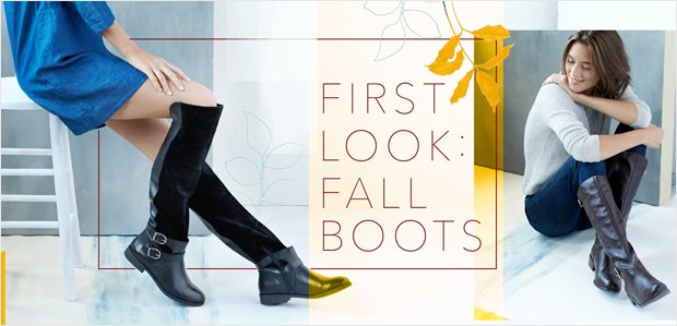First Look: Fall Boots
