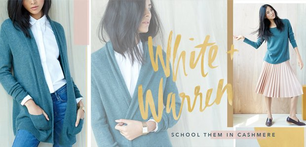 White + Warren Cashmere