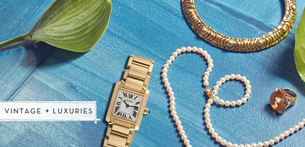 Estate Jewelry & Watches Featuring Cartier