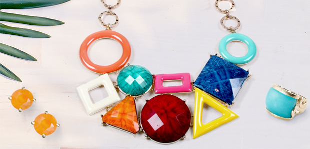 Colorful Jewelry: A Warm-Weather Must