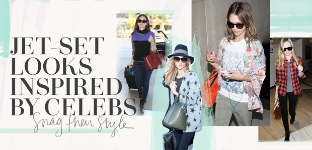 Jet-Set Looks Inspired by Celebs: Snag Their Style