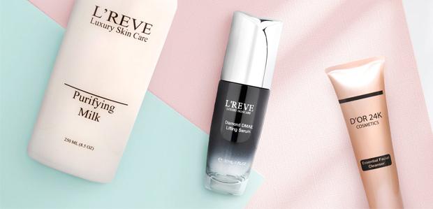 D'OR 24K & L'REVE Skincare