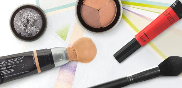 Bodyography Makeup, Brushes, & More