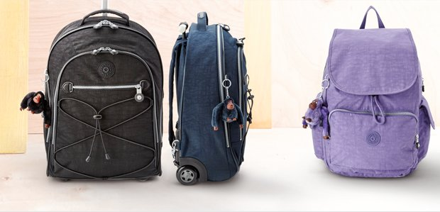 Ready. Set. Jet: Luggage Featuring Kipling
