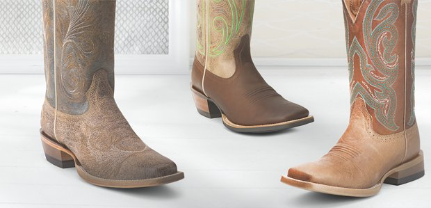 Western Boots for All: Dan Post, Ariat, & More