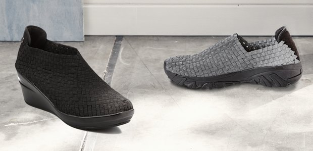 Walk in Comfort: Shoes Featuring Bernie Mev