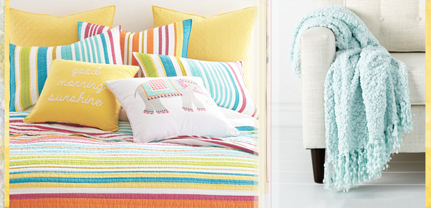 Kaleidoscope Style: Bold & Bright Bedding