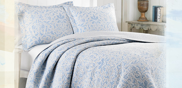 Layer with Abandon: Quilts by Laura Ashley & More