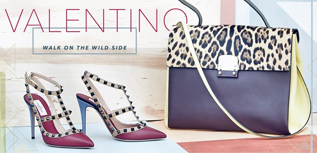 Valentino Handbags, Shoes, & More