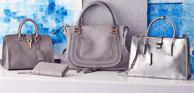 Chloe & More: Luxe Handbags in Stormy Hues