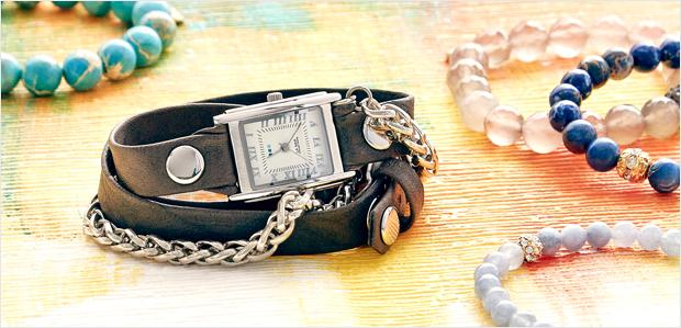 Add a Boho Touch: Free-Spirited Jewelry & Watches