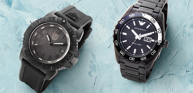 Trend to Watch: All-Black Watches