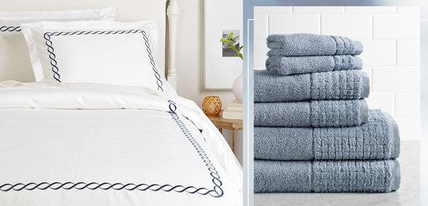 Wrap Up in Egyptian Cotton: Sheets to Towels